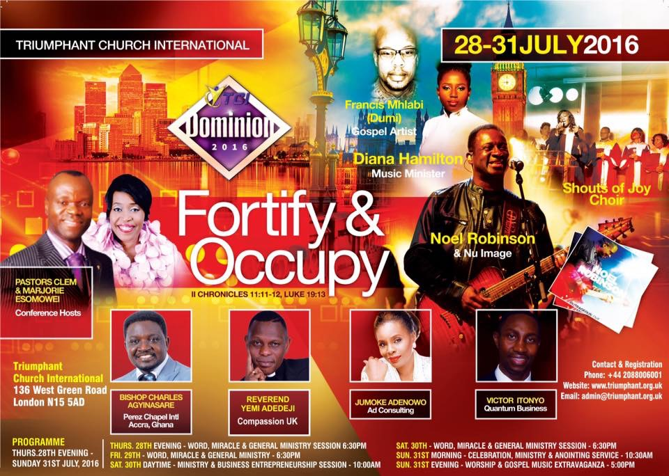 Dominion 2016: Fortify & Occupy