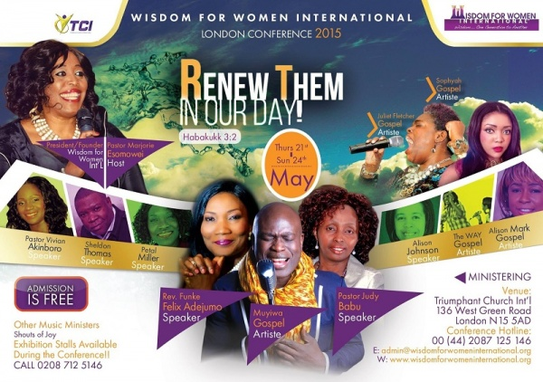 Wisdom for Women International London Conference 2015