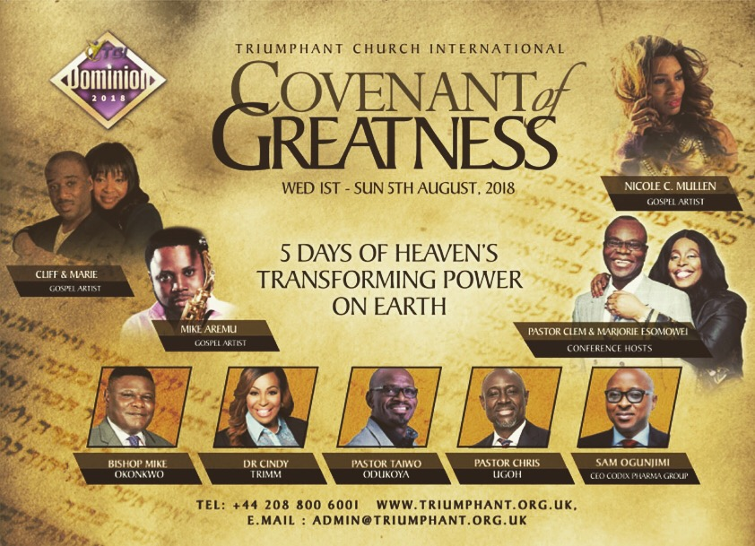 Covenant of Greatness