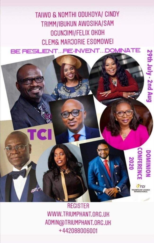 Dominion Conference 2020: Saturday Morning Business and Ministry Impartation Session